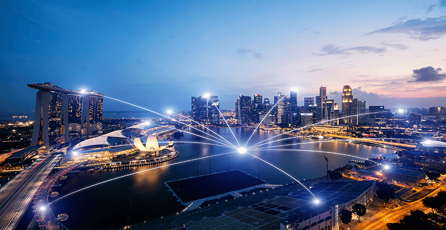 Singapore feature image - A country where cybersecurity is a top priority.