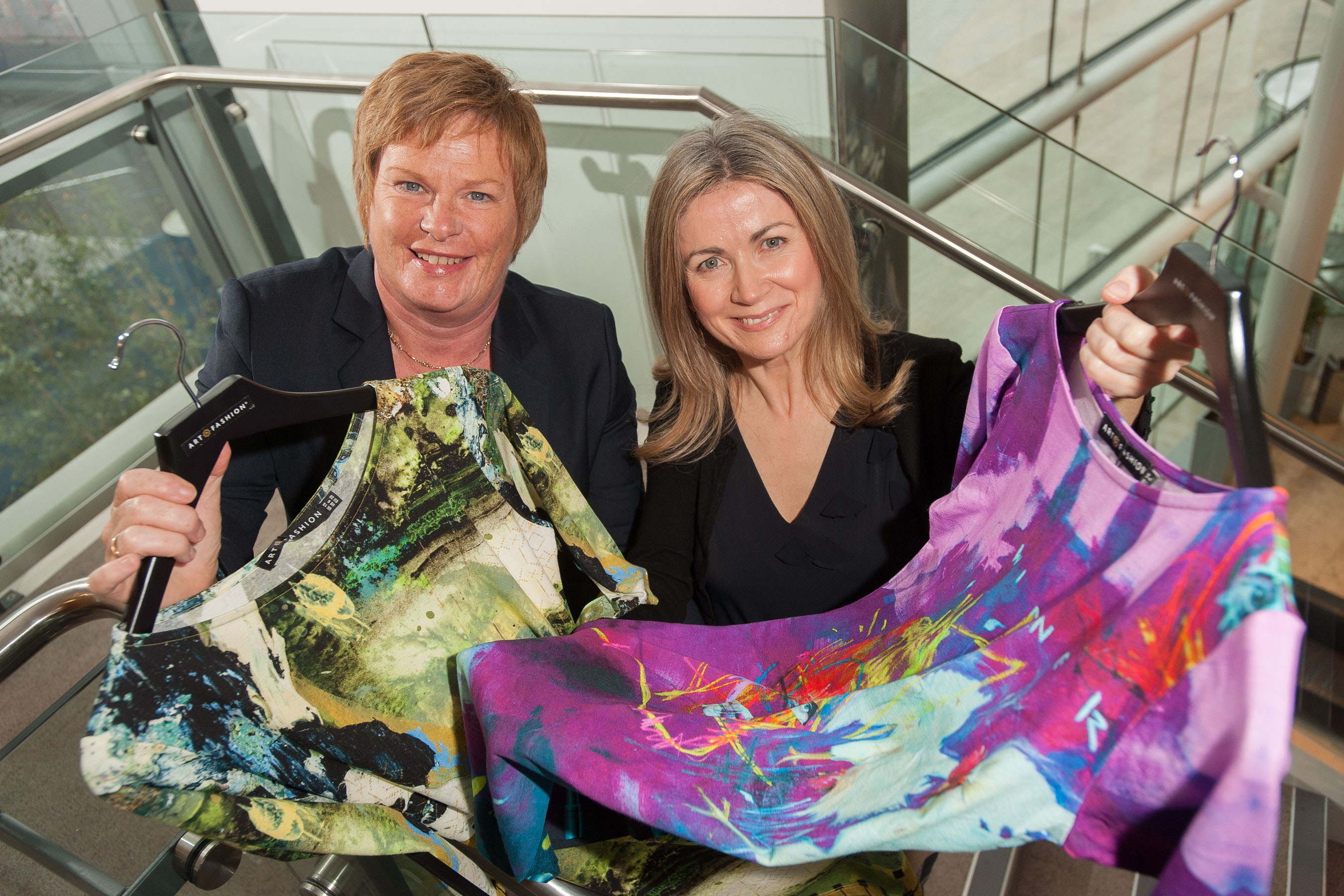 Art On Fashion Helped By Invest Ni To Export To Qatar Invest Northern Ireland