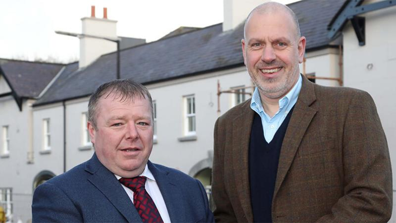 Fresh Food Centres news image - Pictured (L-R) are Michael Johnston, Operational Director, Fresh Food Centres and John Hood, Director of Food & Tourism, Invest NI.