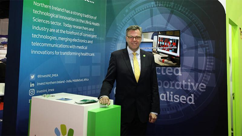 Arab Health - Pictured - Alastair Hamilton, CEO, Invest NI at Arab Health today, Monday 28th January 2019