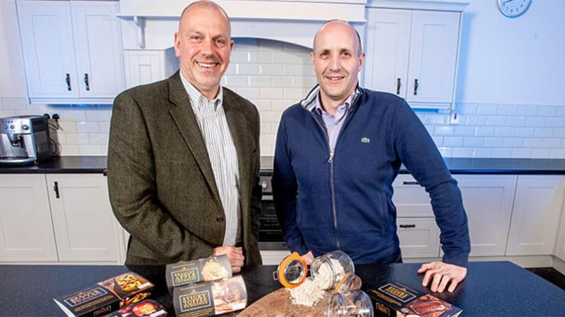 Davison Canners - Pictured (L-R) are John Hood, Director of Food and Drink, Invest NI with Alan Davison, MD, Davison Canners