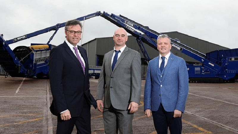 Edge Innovate - Pictured (L-R) are Alastair Hamilton, CEO Invest NI with Niall McKiver, Operations Director, Edge Innovate and Darragh Cullen, Managing Director, Edge Innovate