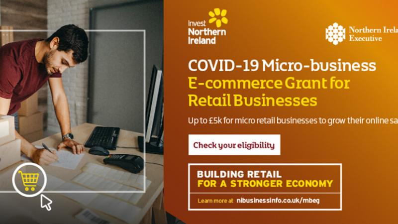 Micro-Business E-commerce Grant Feature Banner