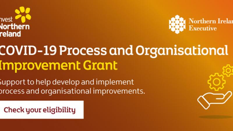 COVID-19 Process and Organisational Improvement Grant