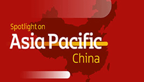 Asia Pacific china and map