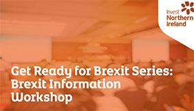 Brexit Information Workshop title and image