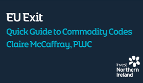 Quick Guide to Commodity Codes